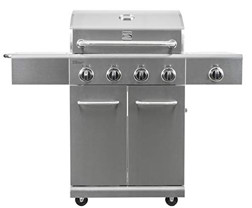 Kenmore PG-40405S0LA-AM 4 Propane Grill With Side...
