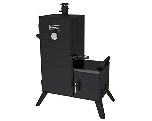 Dyna-Glo DGO1176BDC-D Charcoal Offset Smoker,Black