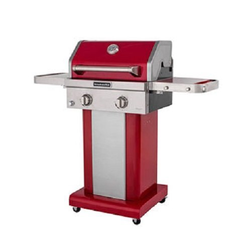 KitchenAid 2-Burner Propane Patio Grill with Cover...