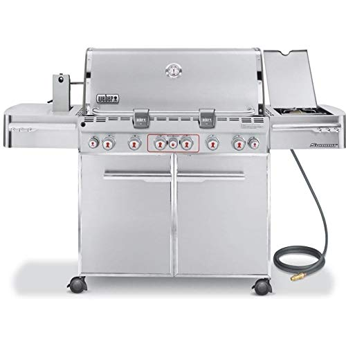 Weber 7470001 Summit S-670 6-Burner Natural Gas...