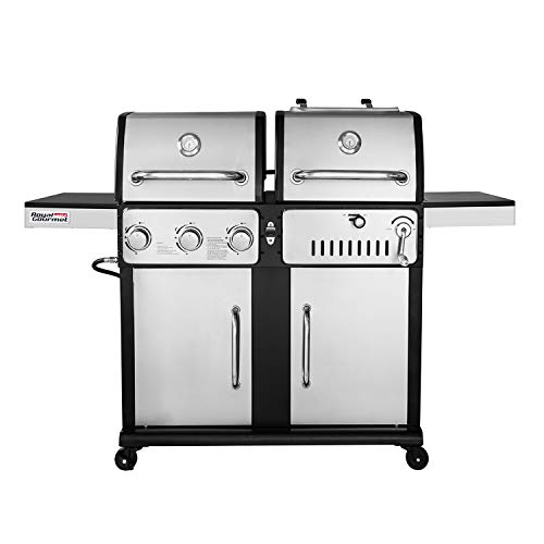 Royal Gourmet ZH3003S 3-Burner Gas and Charcoal...