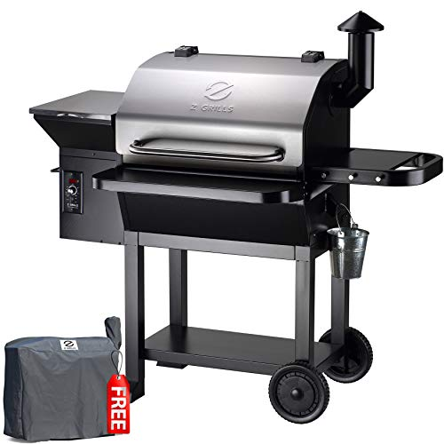 Z GRILLS 2020 Upgrade 8 in 1 BBQ Grill Auto...