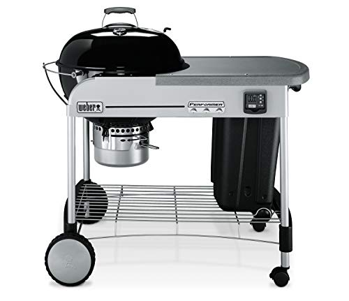 Weber 15401001 Performer Premium Charcoal Grill,...