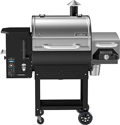 Camp Chef Woodwind Pellet Grill with Sear Box -...