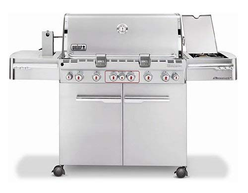 Weber Summit S-670 LP Gas Grill, 7370001