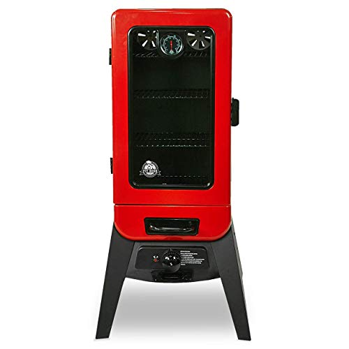PIT BOSS 77435 Vertical Lp Gas Smoker, Red