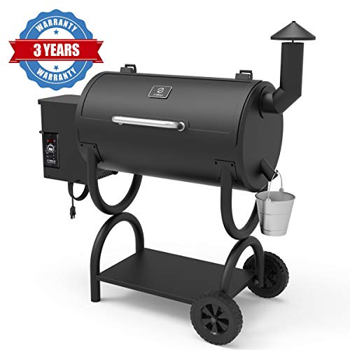 Z GRILLS Wood Pellet Grill Holiday 8-in-1 BBQ...