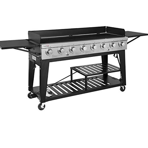 Royal Gourmet GB8000 8-Burner Liquid Propane Event...