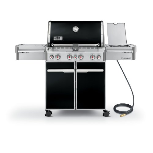 Weber 7271001 Summit E-470 4-Burner Natural Gas...
