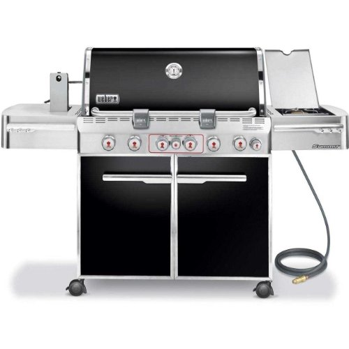 Weber 7471001 Summit E-670 6-Burner Natural Gas...