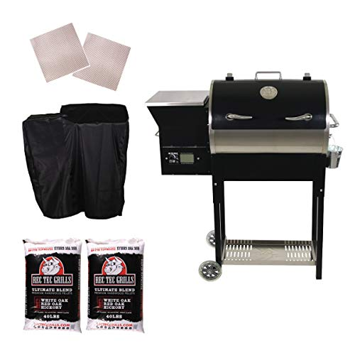 REC TEC Grills | RT-340 | Bundle | WiFi Enabled |...