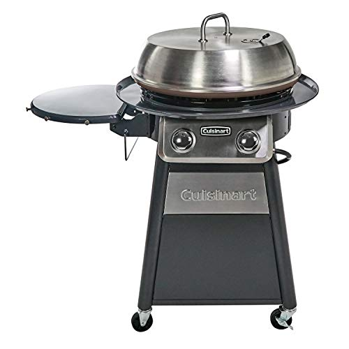 CUISINART CGG-888 Grill Stainless Steel Lid...