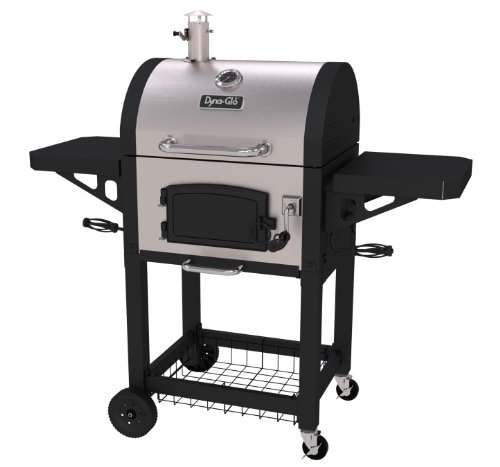 Dyna-Glo DGN405SNC-D Heavy Duty Stainless Charcoal...
