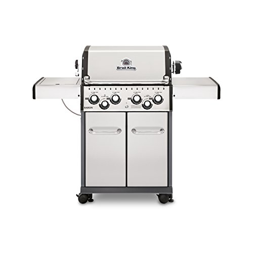Broil King 922587 Baron S490 NG Gas Grill,...