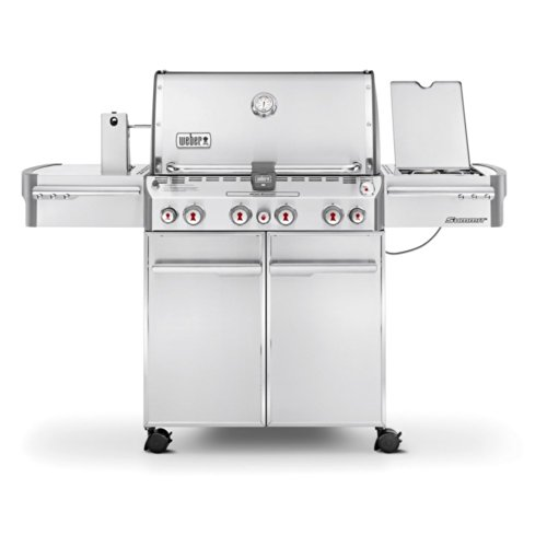 Weber 7170001 Summit S-470 4-Burner Liquid Propane...