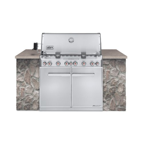 Weber 7360001 Summit S-660 Built-In Liquid Propane...