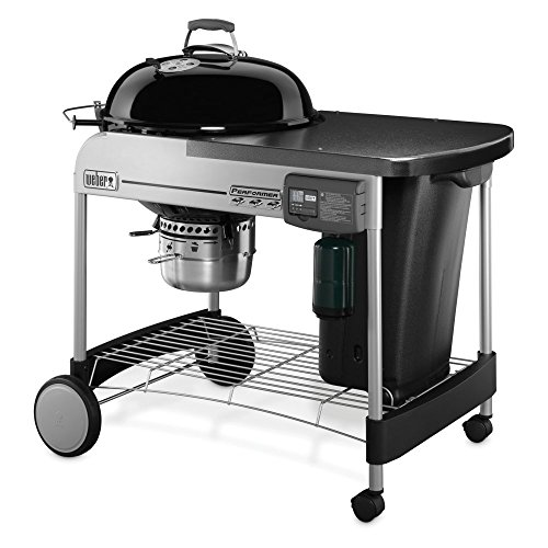 Weber 15501001 Performer Deluxe Charcoal Grill,...