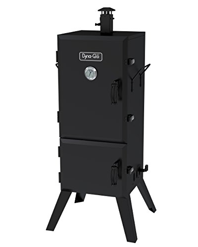 "Dyna Glo Grills Reviews - Dyna-Glo DGX780BDC-D 36"" Vertical Charcoal Smoker"