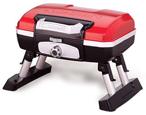 Best Gas Grills Under 200 - Cuisinart CGG-180T Petit Gourmet Portable Tabletop Gas Grill