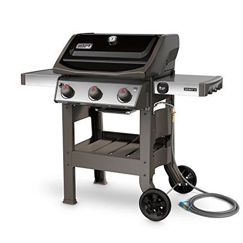 Best Natural Gas Grills - Weber 49010001 Outdoor Gas Grill (Spirit II E-310 Black NG) by Weber
