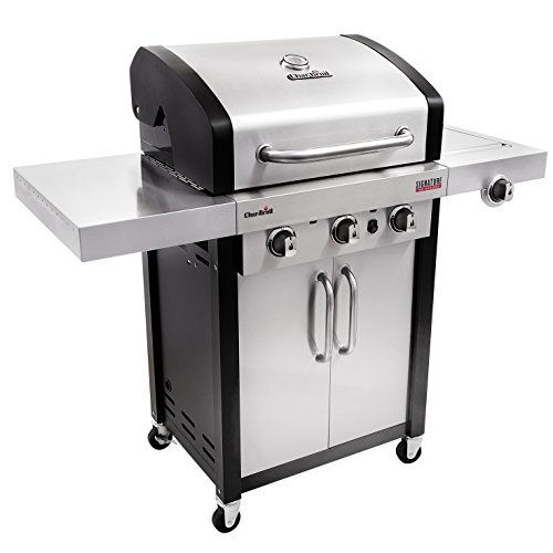 Best Char-Broil Grill Reviews - Char-Broil Signature TRU-Infrared 420 3-Burner Cabinet Liquid Propane Gas Grill