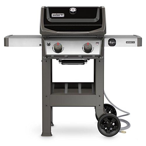 Best Natural Gas Grills - Weber 48010001 Outdoor Gas Grill (Spirit II E-210 Black NG)