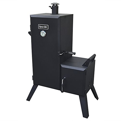 Top 10 Dyna Glo Grills Reviews 2019 - Dyna-Glo DGO1176BDC-D Charcoal Offset Smoker