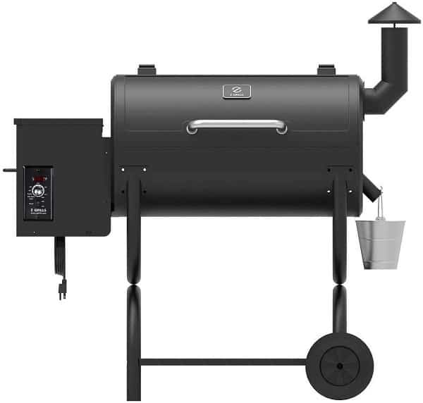 Z Grills Wood Pellet Grill 8-in-1 BBQ Smoker for Outdoor Cooking