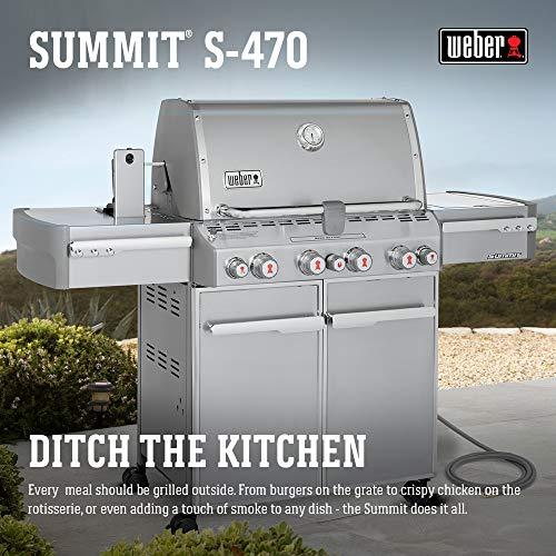 Best Natural Gas Grills - Weber Summit 7270001 Natural-Gas Grill (S-470 48,800-BTU)