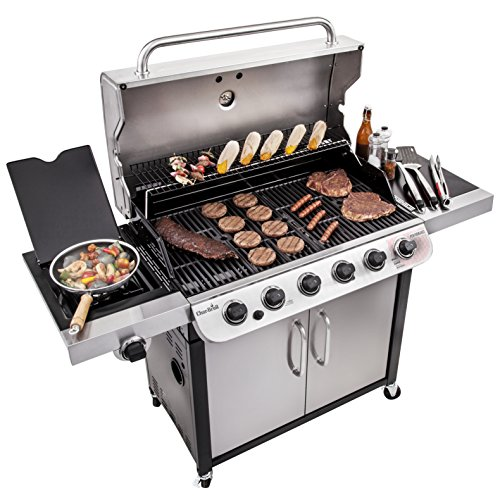 Best Char-Broil Grill Reviews - Char-Broil Performance 650 6-Burner Cabinet Liquid Propane Gas Grill