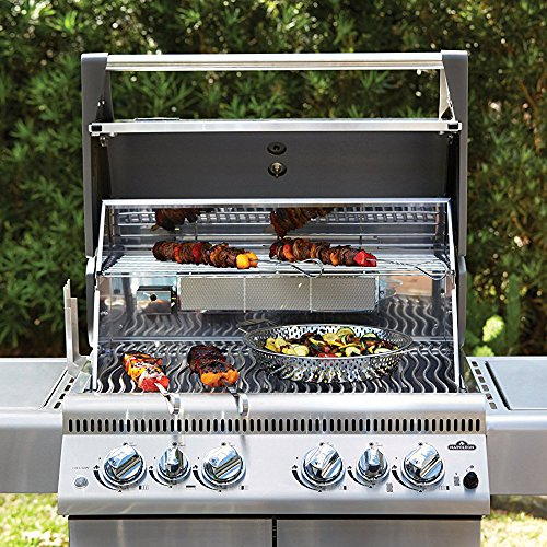 Napoleon grill reviews - Napoleon LEX485RSIBNSS-1 Natural Gas Grill