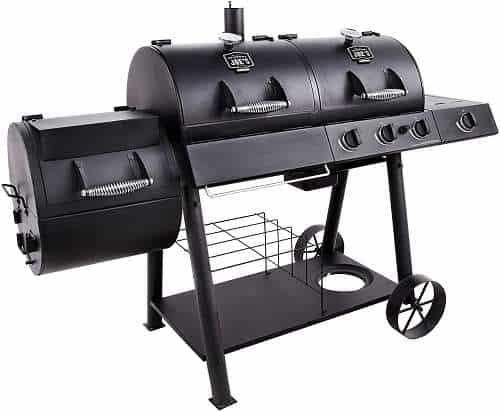 Oklahoma Joe's Charcoal, LP Gas Smoker Combo