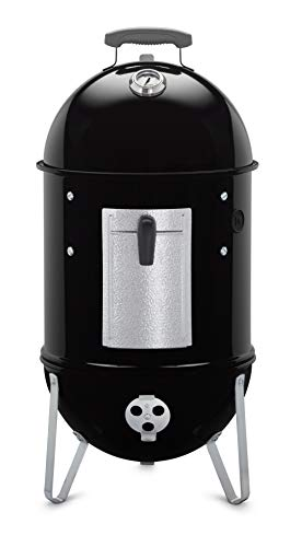 Nexgrill vs Weber Grills - Weber 711001 Smokey Mountain Cooker 14-Inch Charcoal Smoker, Black