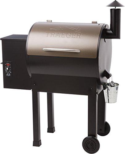 Rec Tec vs Traeger Grills - Traeger Lil Tex Elite 22 Wood Pellet Smoker and Grill