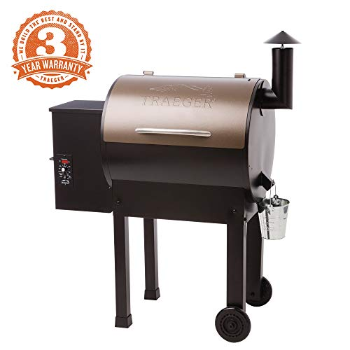 Green Mountain Grills vs Traeger Grills - Traeger Lil Tex Elite 22 Wood Pellet Smoker and Grill