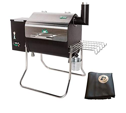 Green Mountain Grills vs Traeger Grills - Green Mountain Davy Crockett Pellet Grill WiFi-Enabled with Cover