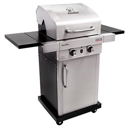 Latest Propane Grill Reviews - Char-Broil Signature TRU-Infrared 325 2-Burner Cabinet Liquid Propane Gas Grill