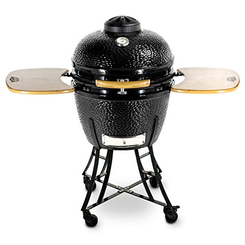 Best Pit Boss Charcoal Grill Reviews - Pit Boss 71220 Kamado Ceramic Grill Cooker