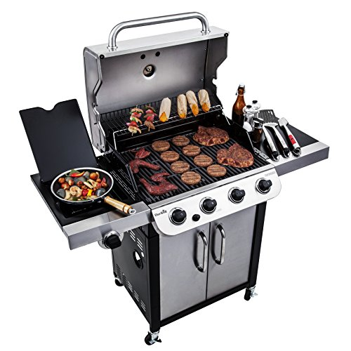 Propane Gas Grill Reviews - Char-Broil Performance 475 4-Burner Cabinet Liquid Propane Gas Grill