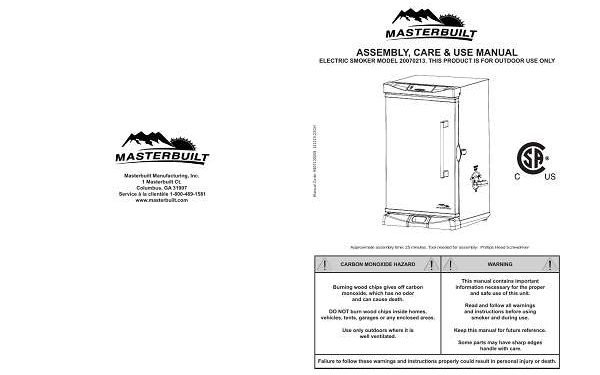 Masterbuilt electric smoker troubleshooting guide
