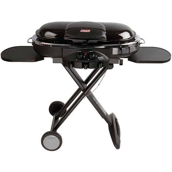 Compare Weber Q2200 to Coleman RoadtTrip LXE Portable Grill