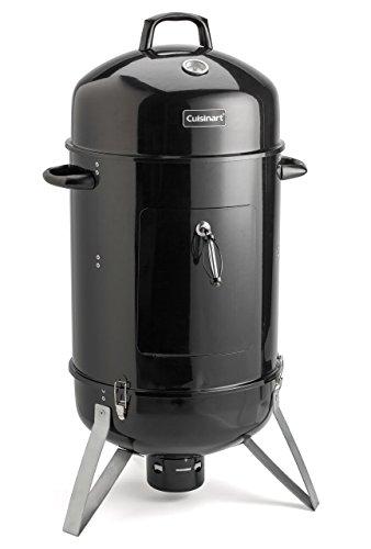 "Best Charcoal Smoker Grills - Cuisinart COS-118 Vertical 18"" Charcoal Smoker"