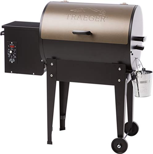 Z Grills vs Traeger Grills -  Traeger Junior Elite Pellet Grill and Smoker TFB29LZA