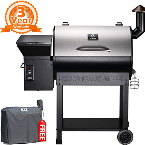 Z Grills vs Traeger Grills -  Z GRILLS ZPG-7002E 2019 Wood Pellet Grill & Smoker New Model
