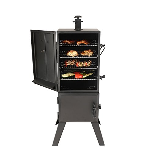 "Best Charcoal Smoker Grills - Dyna-Glo DGX780BDC-D 36"" Vertical Charcoal Smoker"