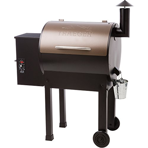 Top 7 Traeger Smoker Reviews and Comparison - Traeger  TFB42LZBC Grills Lil Tex Elite 22 Wood Pellet Grill and Smoker
