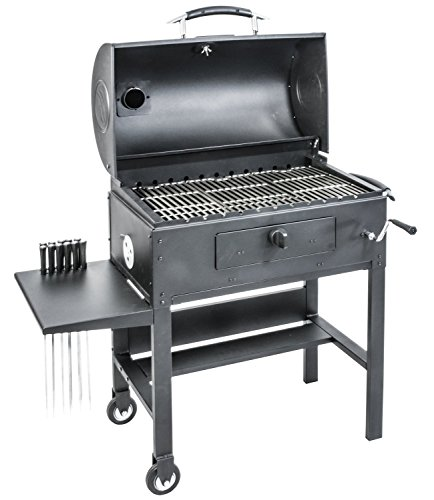 Top 6 Blackstone Grills Reviews - Blackstone 3-in-1 Charcoal Grill