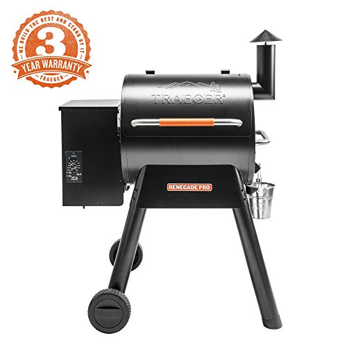 Top 7 Traeger Smoker Reviews and Comparison - Traeger Grills  TFB39TOD Renegade Pro Pellet Grill and Smoker