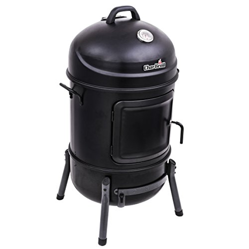 Best Charcoal Smoker Grills - Char-Broil Bullet Charcoal Smoker