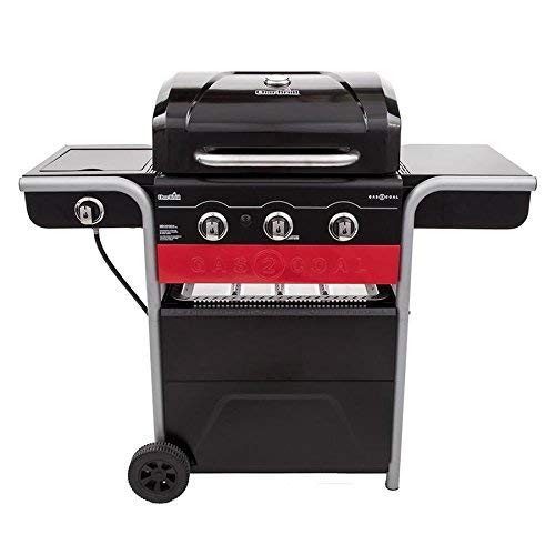 Best Gas Grills Under $500 - Char-Broil Gas2Coal 3-Burner Liquid Propane and Charcoal Hybrid Grill